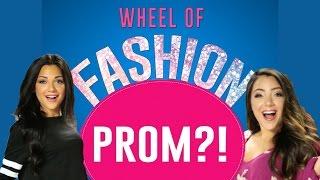 Prom Dress Challenge with Niki and Gabi #WheelofFashion - Presented by Seventeen & Macy