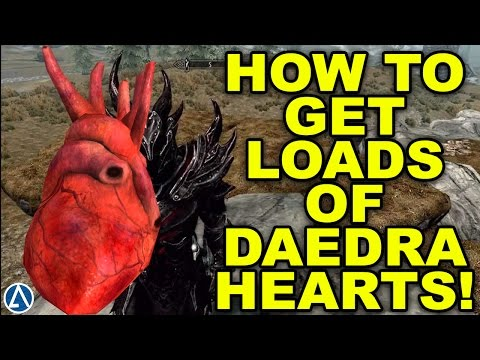 Skyrim Special Edition: How To Get Loads of Daedra Hearts Fast!!