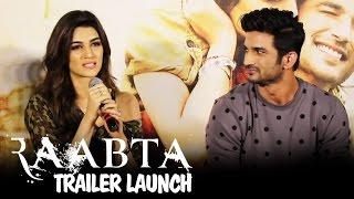 Raabta Trailer Launch   Sushant Singh Rajput & Kriti Sanon   Press Conference