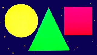 Shapes Song | Learning Videos for Children | Kids Cartoons from Kids Tv Channel