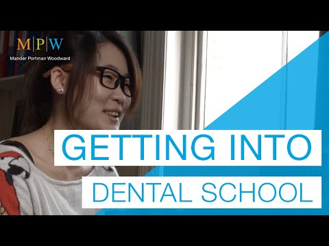 Advice on getting into Dental School