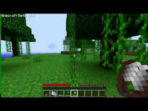 Minecraft how to make a vine farm
