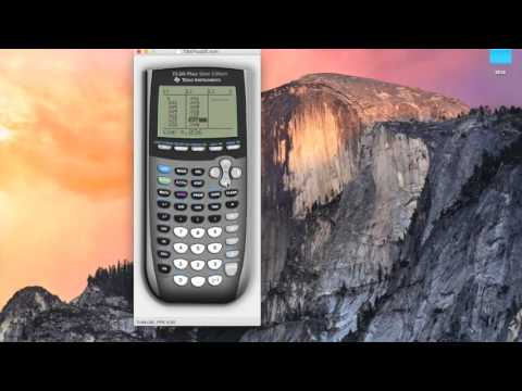 Upper and lower rectangle sums on the TI-84 graphics calculator