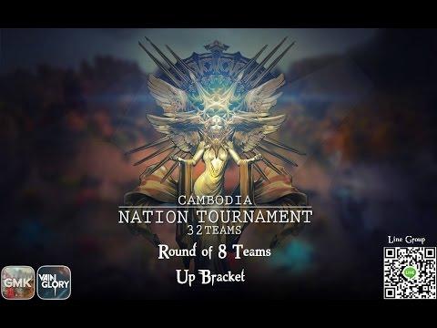 Cambodia National Tournament Season 2 : Third Rournd 8 Teams