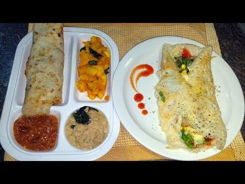 MASALA DOSA Recipe - ದೋಸೆ -  దోసె - தோசை | Pakistani Kitchen