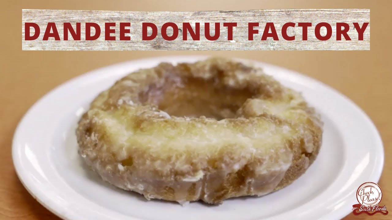 Dandee Donut Factory | Check, Please! South Florida