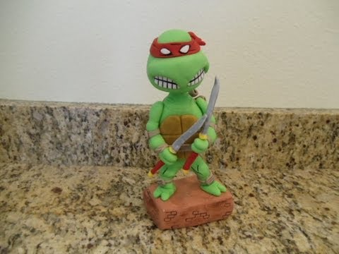 Teenager Mutant Ninja Turtle Cake Topper