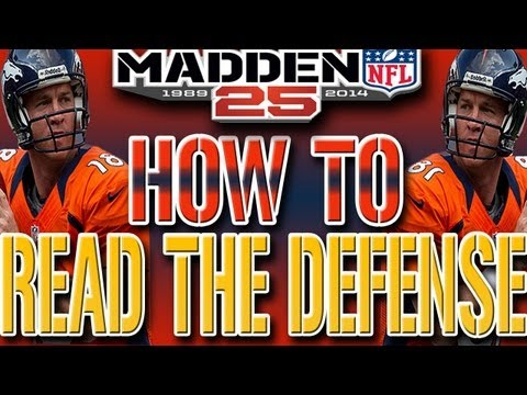 Madden 25 NEXT GEN Tips: How To READ The Defense Man & Zone Coverage Tutorial