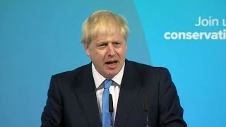 בוריס ג'ונסון התמנה לראש ממשלת בריטניה החדש