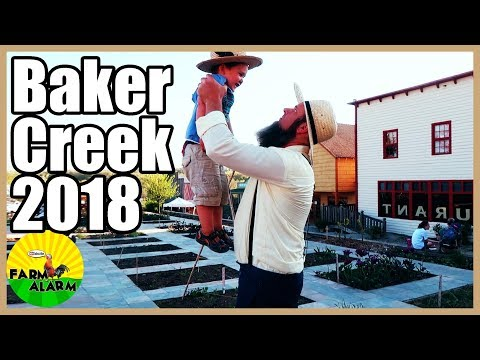 Baker Creek Planting Festival 2018   Day 1