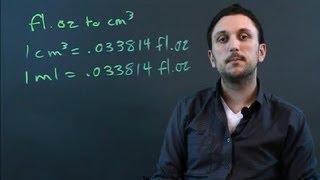 How Many Ounces Of Liquid Per Cubic Centimeter Math Conversions