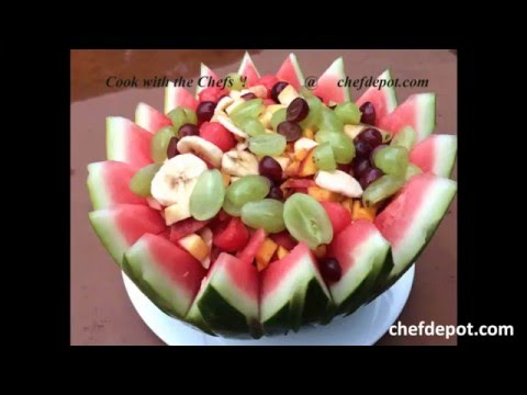 watermelon fruit bowl designs for weddings