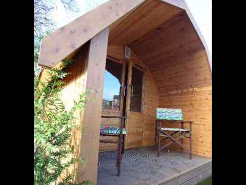 Green Eco Living Camping pods