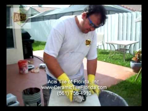 How To Cut A Ceramic Tile In A Proper Way - part 1