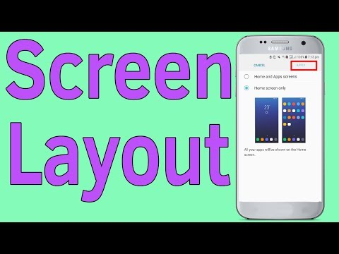 Home Screen Settings : How To Use Home Screen Only On Android 7 Samsung Galaxy Phone - Helping Mind