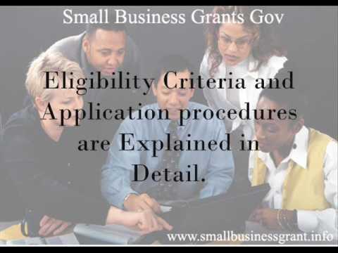 Small Business Grants Gov