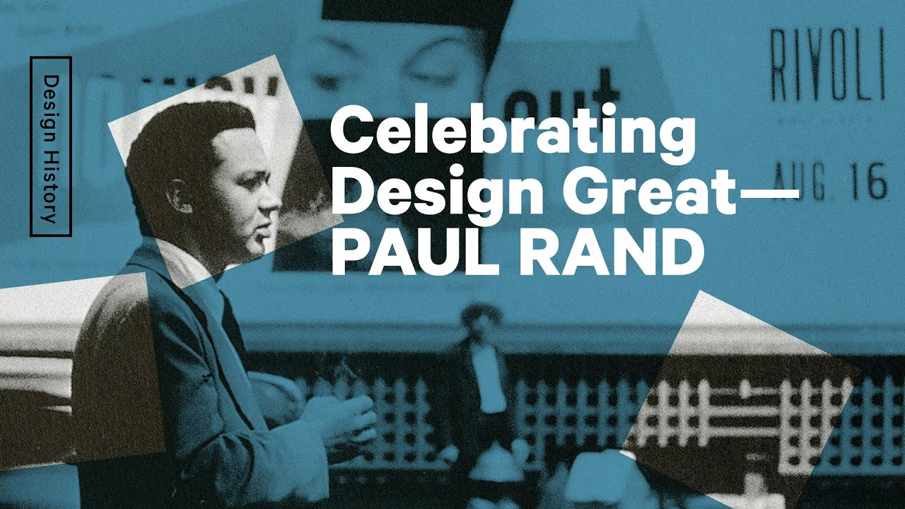 Celebrating The Life Of The Greatest Graphic Designer-Paul Rand