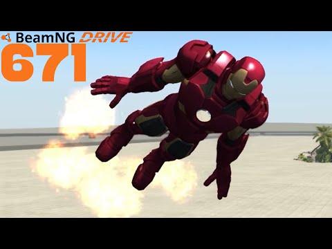 BEAMNG DRIVE #671 | Iron Man | Let's Play BeamNG Drive mit GCG [Alpha] [HD]