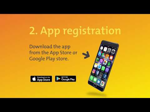 How to register your Smart Account on the Smart Account mobile app