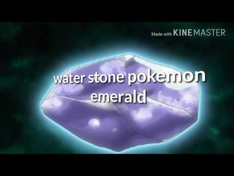 Pokemon emerald how to get the water stone