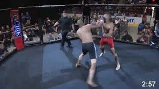 MMA Fighter Gets KO
