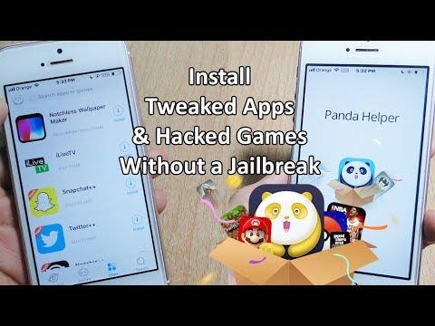 INSTALL Cydia Tweaked Apps & Paid Games FREE iOS 11 / 10.3.3 NO Jailbreak