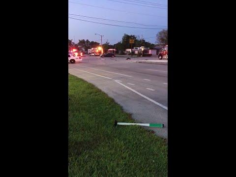 Aftermath of Delray crash