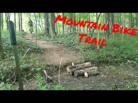 Making A Mountain Biking Trail In My Woods Part 1