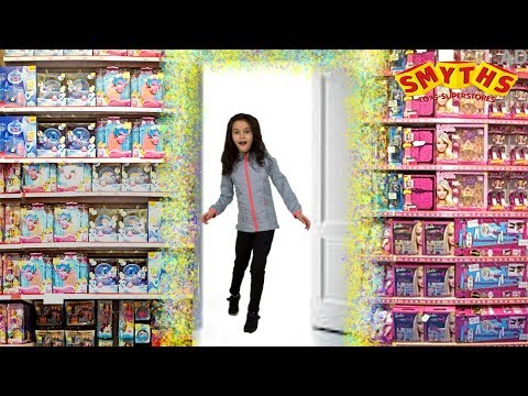 OVERNIGHT TOY HUNT in Smyths TOY STORE -Magic Wardrobe SKIT Part 1⏰  Fun Kids Toys Ivtech Ad