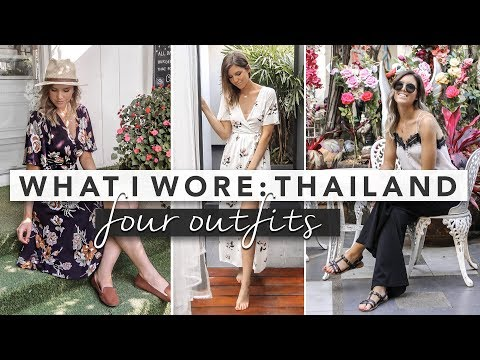 What I Wore: 4 Outfits in Thailand   by Erin Elizabeth