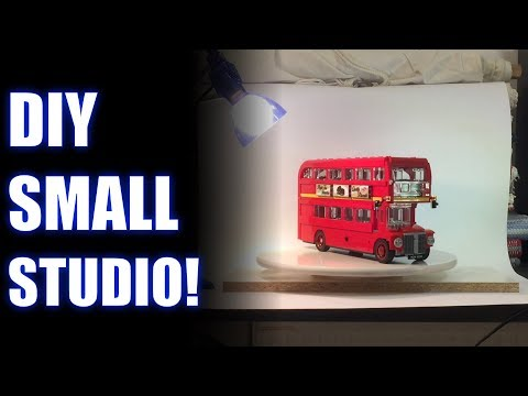 DIY Small Studio! Photo/Video Tutorial
