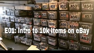 E01: Join me in building a 10k item store on eBay!