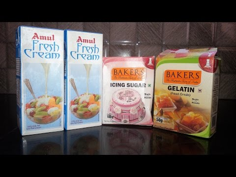 Whipped Cream from Amul Low Fat Cream | Making whipped cream at home