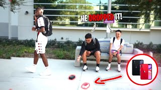 Dropping an iPhone 11 at School! | HONESTY SOCIAL EXPERIMENT