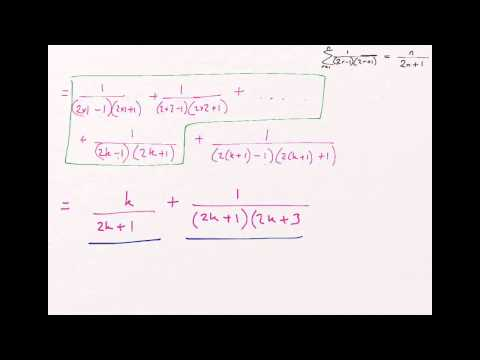 How to: Prove by Induction - Proof of Summation Formulae