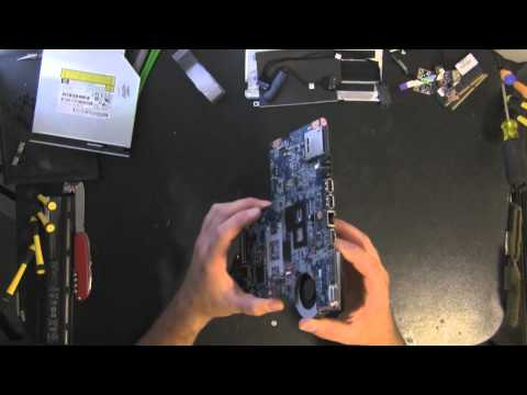 HP G62 take apart video, disassemble, how to open disassembly