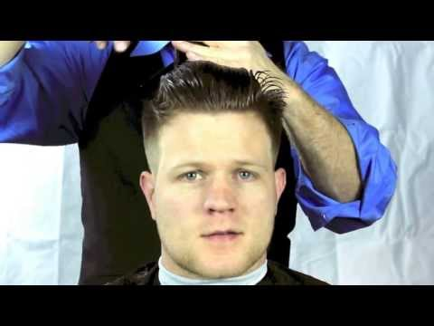 How to Cut a Pompadour Fade Haircut