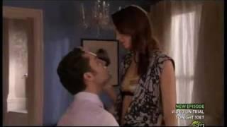 Gossip Girl 4.09 Blair and Chuck Bedroom Scene