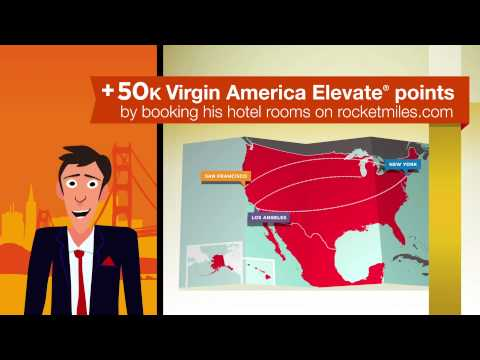 Rocketmiles + Virgin America Elevate®