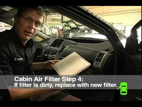 How to Check Cabin Air Filter Video