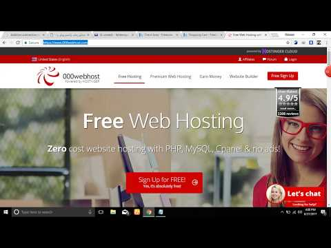 How to Buy Free Hosting Using 000webhost .? Part 2