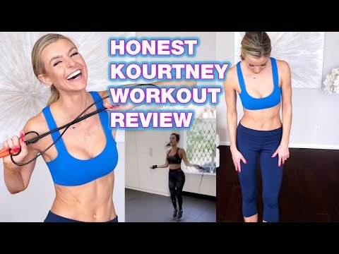 Kourtney Kardashian Workout REVIEW DAY 1: CARDIO