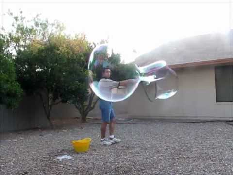 Giant Soap Bubble Fun Toy Wand -  Huge Giant Big Large Bubble Maker