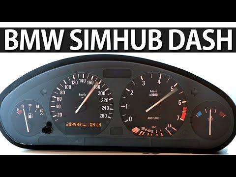 HOW TO WIRE BMW SPEEDO CLUSTER FOR SIMULATOR   SIMHUB