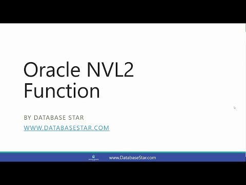 Oracle NVL2 Function