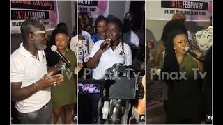Ebony's Sister Perform with Afia Schwar at Ebony 1 Year Anniversary..