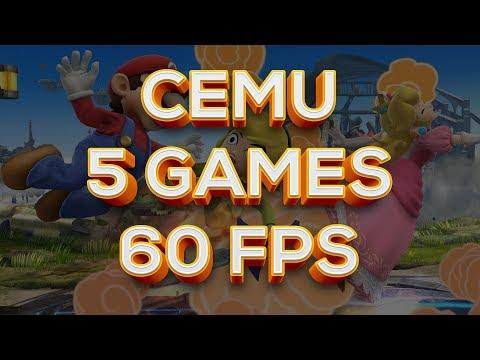 Cemu Games: Five 60FPS Titles