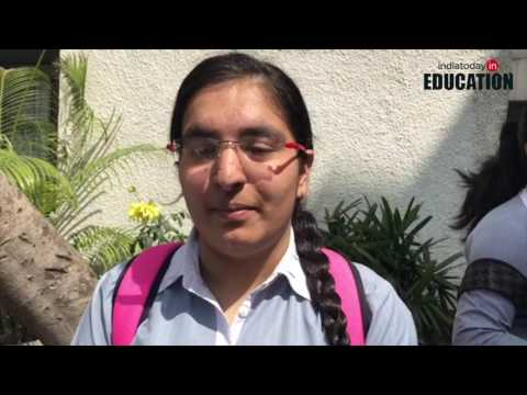 Class 12 maths board exam students' reaction | CBSE Board Exams 2017
