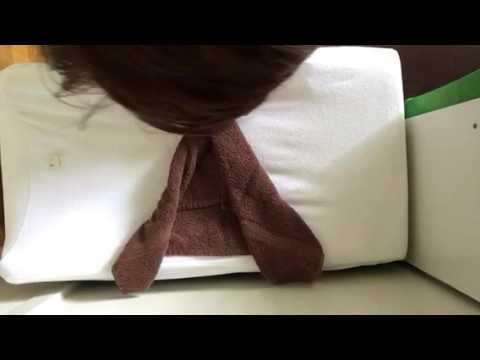 Towel origami-dick towel