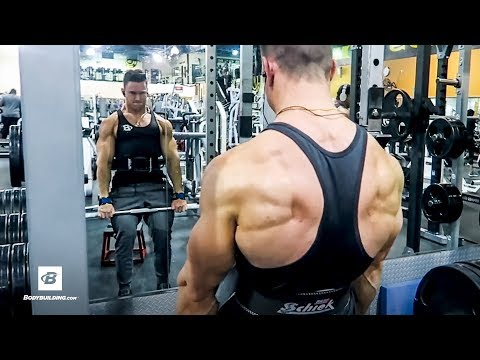 Full Back Workout w/ Commentary | Abel Albonetti